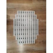 Műanyag kilépő szőnyeg / ovális
