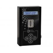 RS109 – Fólia tasztatúrás lcd kijelzős zsetonos szolárium vezérlő automata